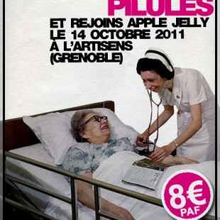 Flyer virtuel « Apple Jelly @Artisens » …
