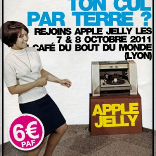 Flyer virtuel « Apple Jelly @Bout du Monde » …